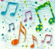 music notes graphics